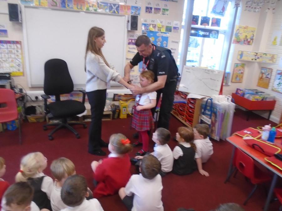 Matilda put handcuffs on Miss Martin