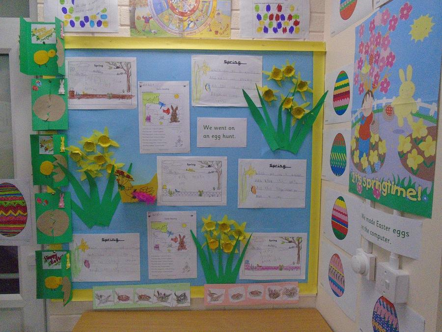 Our Spring and Easter display