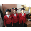 Budding members of the Salvation Army!