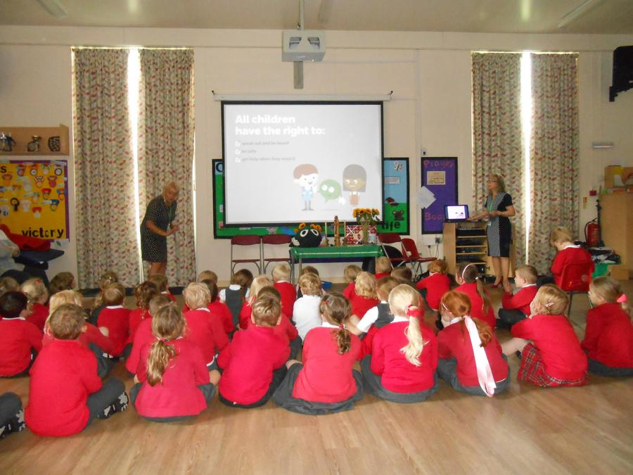 NSPCC assembly - learning how to keep safe