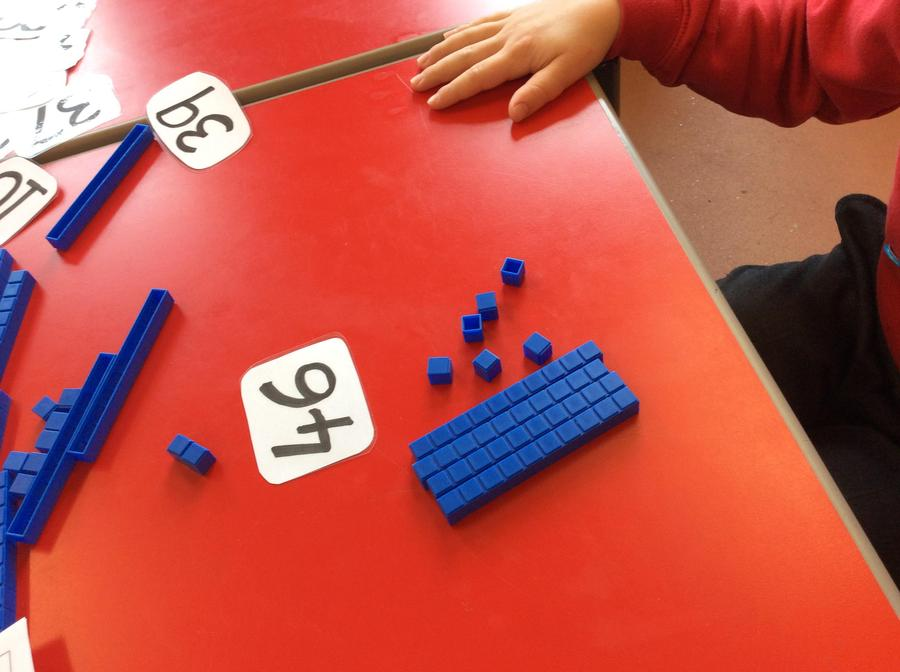 Making amount using tens and ones