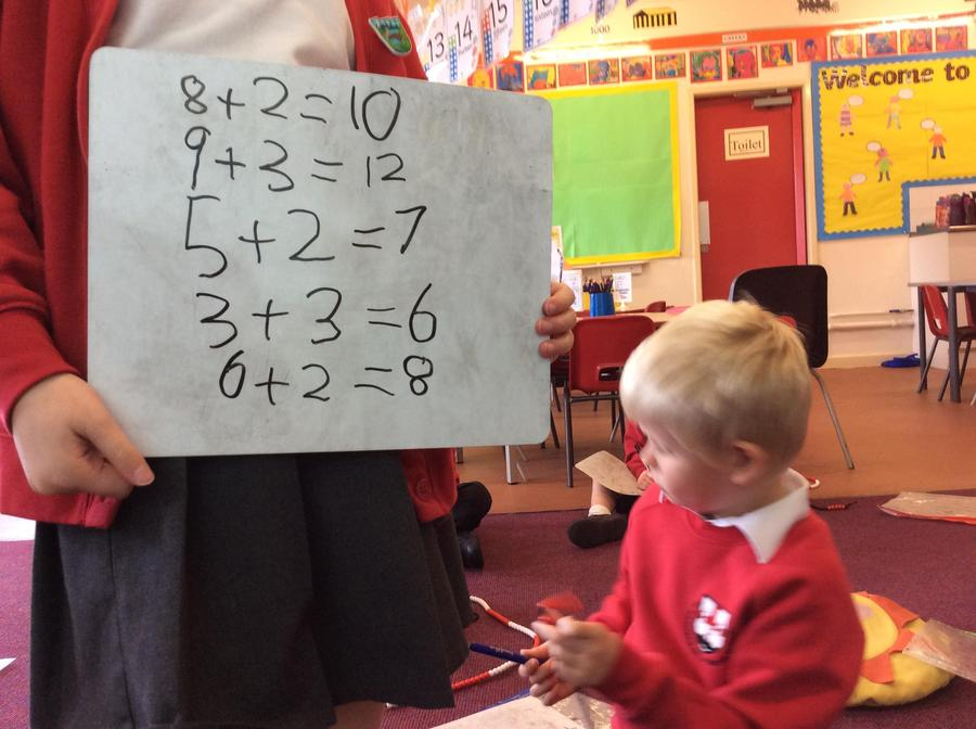 Simple addition calculations