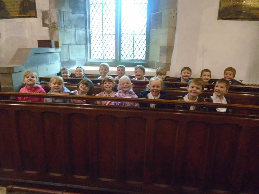 Sitting in our pews