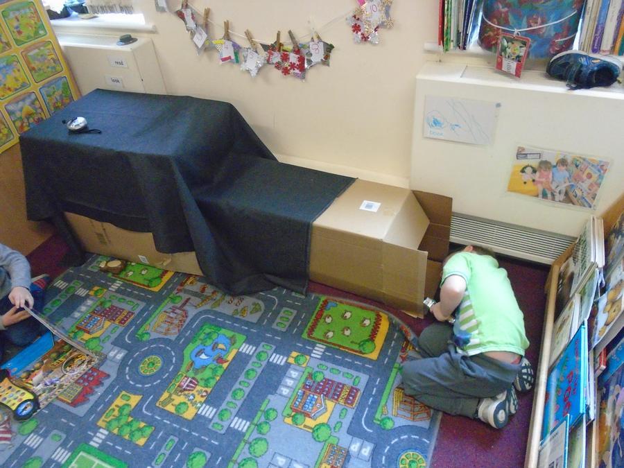 Investigating the dark box den