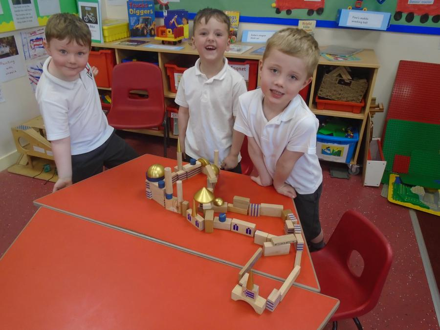 Making a mosque