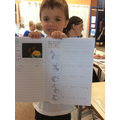 Look at this amazing writing!