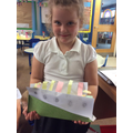 A brilliant ship built at home inspired by our Discover work.