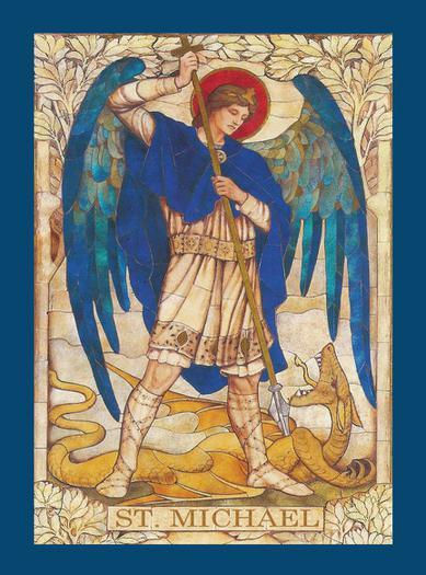 St Michael prayercard image