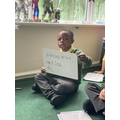 Practising our green words