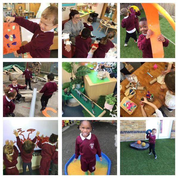 We love to learn and explore in Nursery