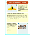 The Great Fire of London by Alana
