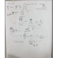 Hansel and Gretel story map  by Alana