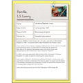 L.S Lowry fact file by Lois