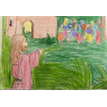 The Parable of Jesus and the ten lepers by Ruby F