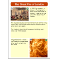 The Great Fire of London by Drew