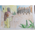 The Parable of Jesus and the ten lepers by Molly