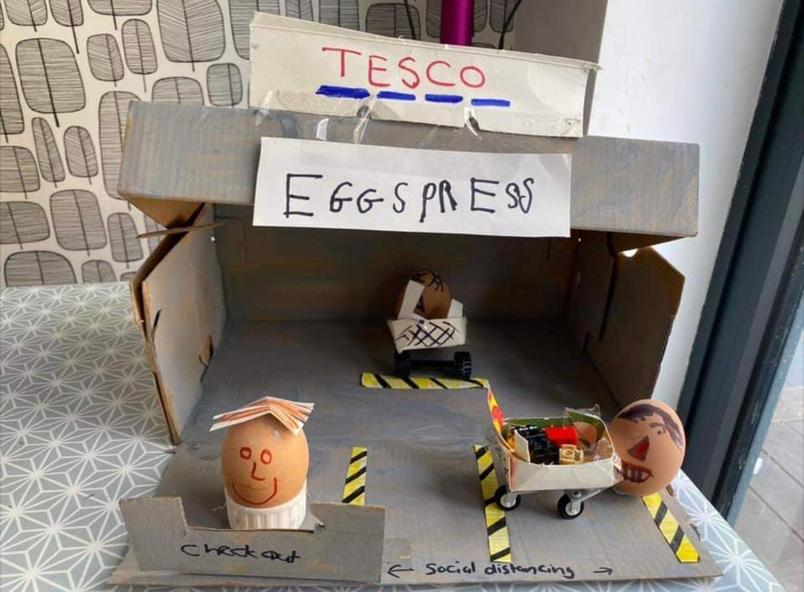 Tesco Eggspress - Teddy Lewis