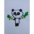 A panda picture by Molly