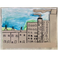 A Lowry collage by Alana