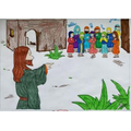 The Parable of Jesus and the ten lepers by Drew