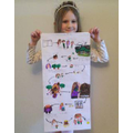 Hansel and Gretel story map
