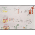 Hansel and Gretel story map by Leo