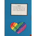 Station 2 reflection activity - Redwood Class hearts