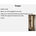 Our Eucharist prayer
