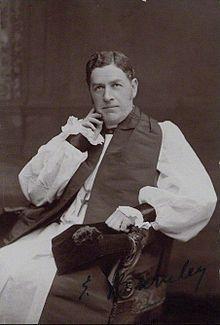 Revd Edwyn Hoskyns - curate at the time