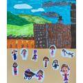 A Lowry collage by Molly
