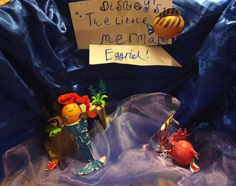 Eggriel the Little Mermaid by Daisy Byles (yr4)