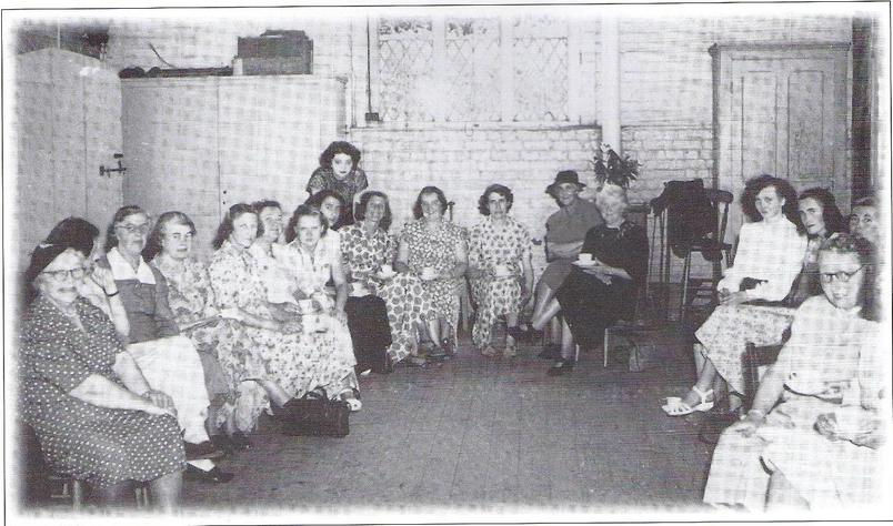 WI meeting in Oak classroom 1951