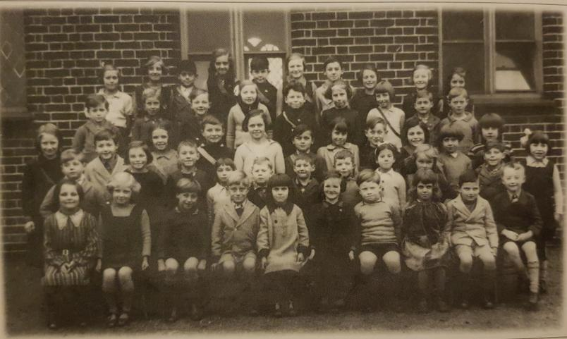 School photo in late 1930's