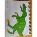 Ethan's dinosaur