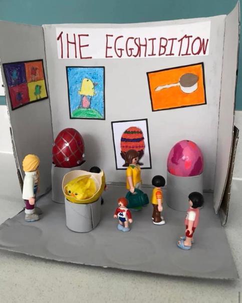 The Egghibition by Ellena (yr4)