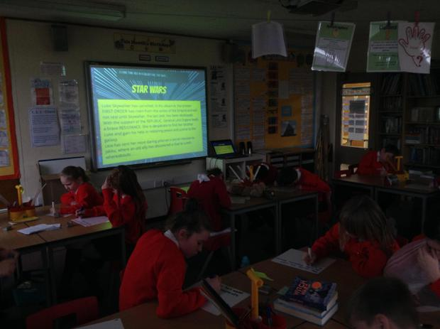 Using a famous film opening in guided reading