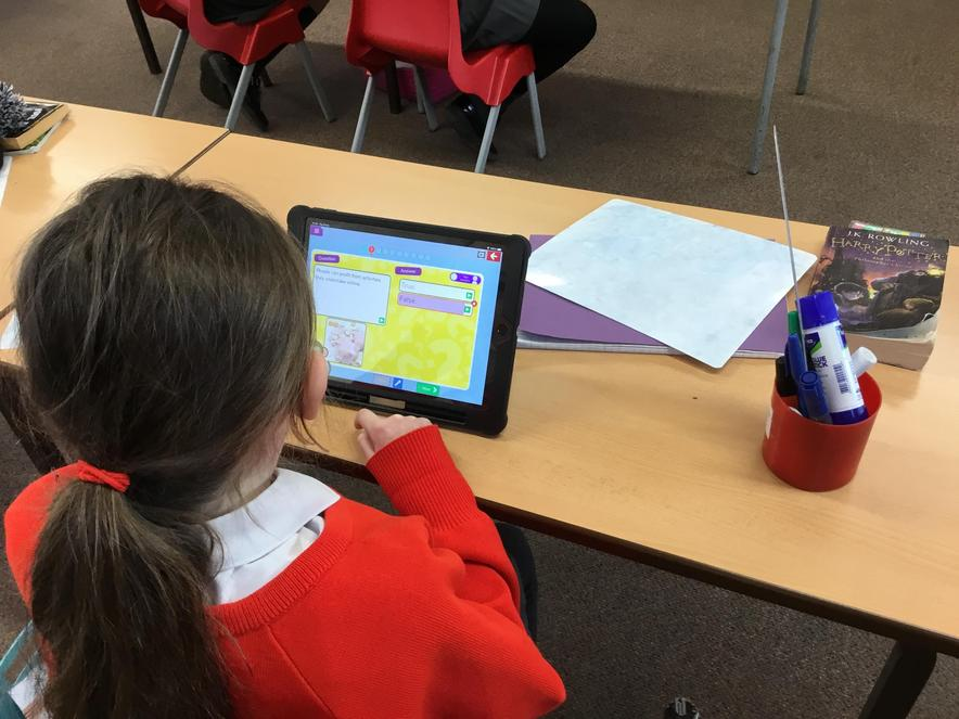 We looked at reliability and phishing in Upper KS2