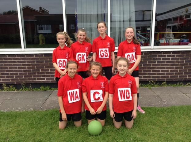 St Monica's Netball Team win the league!