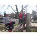We love our new climbing frame!