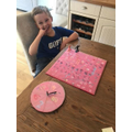 Leo in Y1 reated his own board game