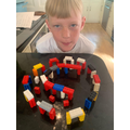 Lego Stonehenge by Will in Year 4
