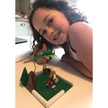 Stone Age model by Lara in Year 3
