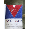 VE Day poster by Lily R in Year 2