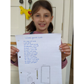 Poem by Evelyn in Year 3