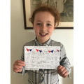 VE Day Menu by Lola in Year 2
