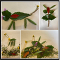 Leaf pictures by Josie in Year 2