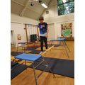 An epic obstacle course by Lucas Y4 and Lauren Y1