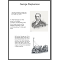 George Stephenson poster by Lola in Year 2