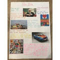 Research on artist Peter Blake by Phoebe in Year 4