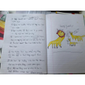 A report about Lions by Zoe in Year 2
